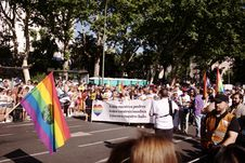 Free World Pride Madrid 2017 Stock Image - 95476841