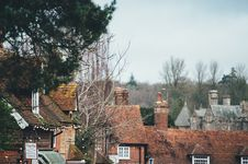 Free Old Houses With Chimneys Royalty Free Stock Photo - 95476845