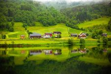 Free Farmlands And Hills Stock Image - 95477301