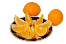 Free Oranges 1 Royalty Free Stock Images - 9550339