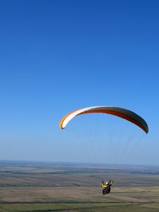 Free Paraglider Royalty Free Stock Photos - 9552118