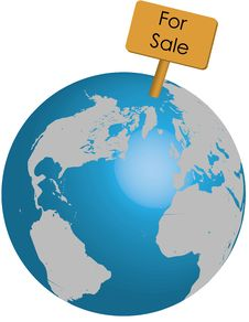 Free Globe For Sale Stock Photos - 9552863