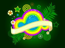 Free Hippie Abstract Design Stock Photography - 9553002