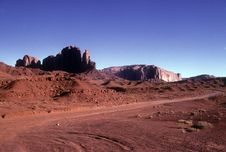 Free Monument Valley National Park Stock Photo - 9554170