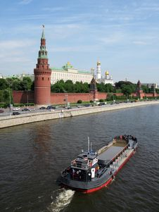 Free Kremlin Palace, Moscow Stock Image - 9555411