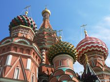 Free St. Basil Cathedral, Moscow Stock Photography - 9555702