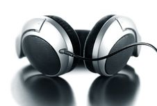 Free Headphones On White Background Stock Photos - 9555823