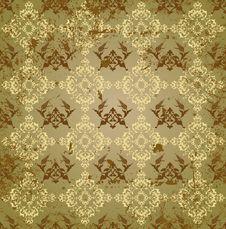 Free Grungy Ottoman Design Royalty Free Stock Image - 9556426