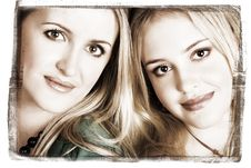 Free Sisters Stock Image - 9556711