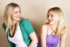 Free Sisters Stock Photography - 9557002
