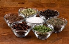 Free Indian Spices Stock Images - 9557344