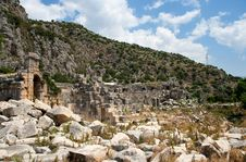 Free Lycian Tombs Stock Photography - 9557472