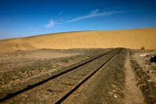 Free End Of The Line Royalty Free Stock Image - 9557546