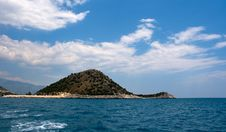 Free Island In The Mediterranean Sea Stock Image - 9557741