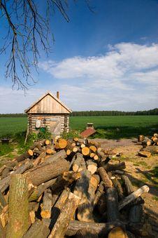Free Idyllic Firewood Stock Images - 9557924
