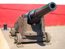 Free Ancient  Cannon Stock Photo - 9558300