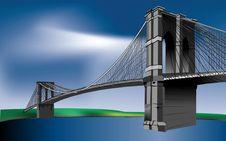 Free Bridge, Landmark, Sky, Cable Stayed Bridge Royalty Free Stock Photo - 95520715