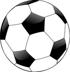 Free White, Black And White, Football, Ball Stock Photo - 95521340