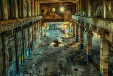 Free Lost Places, Factory, Hall, Leave Royalty Free Stock Photo - 95521825