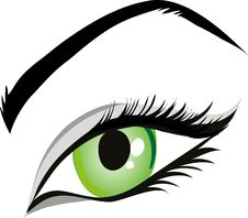 Free Eye, Face, Green, Eyebrow Stock Image - 95521911