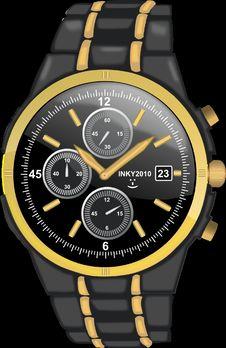 Free Watch, Watch Accessory, Yellow, Watch Strap Royalty Free Stock Image - 95522676