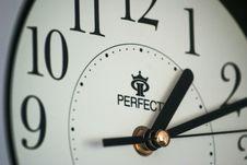 Free Close Up Of Clock Face Stock Photos - 95536843