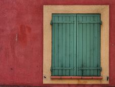 Free Green Shutters Royalty Free Stock Photos - 95536968