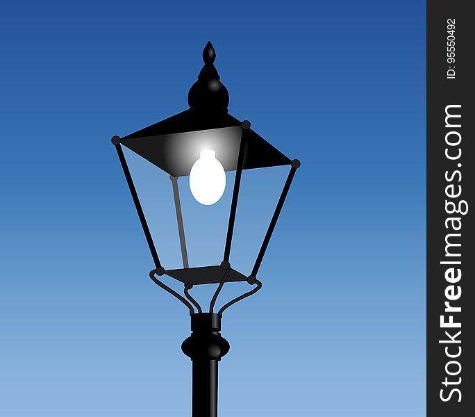Light Fixture, Street Light, Sky, Lighting