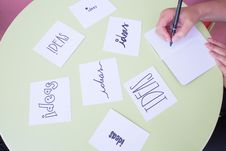 Free Brainstorming Ideas Stock Photography - 95593392