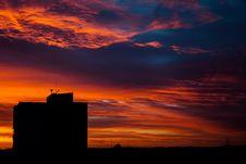 Free Urban Sunset Royalty Free Stock Photography - 95593577