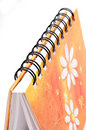 Free Spiral Notebook Royalty Free Stock Photography - 9565787