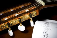 Free Classical Guitar Tuners Royalty Free Stock Photography - 9561407