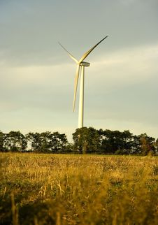 Free Wind Turbine Stock Photography - 9562222