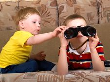 Free Two Boys Stock Photos - 9562443