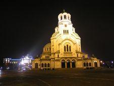 Free Alexander Nevsky Cathedral Stock Photo - 9563810
