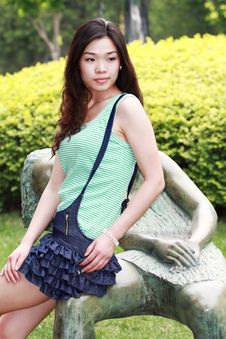 Free Asian Beauty Outdoors Stock Image - 9564061
