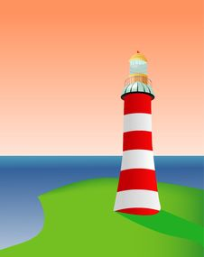 Free Lighthouse Royalty Free Stock Photo - 9564075