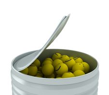 Free Metal Container Royalty Free Stock Image - 9564076