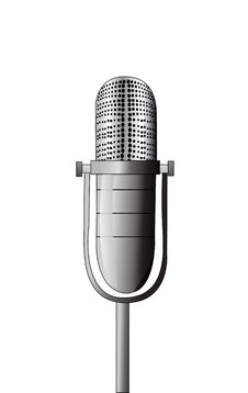 Free Vector Microphone Stock Photography - 9564222