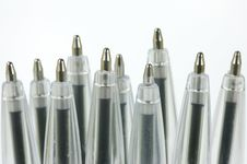 Free Ball Point Pens Royalty Free Stock Photography - 9564317