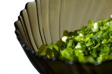 Free Bowl Of Fresh Salad Stock Photos - 9564503