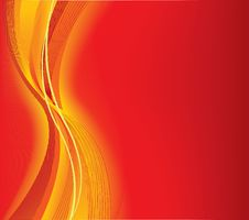 Free Abstract Vector Red Background Stock Image - 9564521