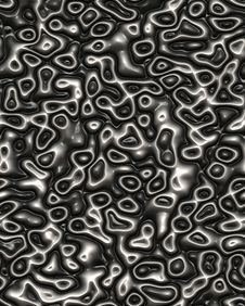 Free Black Plastic Pattern Royalty Free Stock Photo - 9564875
