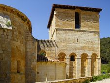 Free The Monastery Of San Pedro De Arlanza In Burgos Stock Photo - 9565650