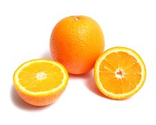 Free Orange Section Royalty Free Stock Photos - 9565858