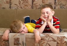 Free Two Boys Stock Photography - 9566402