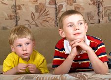 Free Two Boys Royalty Free Stock Photography - 9566417