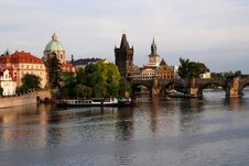 Free Charles Bridge Royalty Free Stock Photos - 9566458
