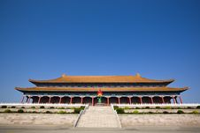 Free Chinese Building Stock Image - 9566491