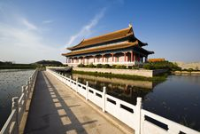 Free Chinese Building Royalty Free Stock Photography - 9566507